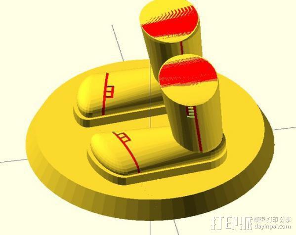 迷你靴子 3D模型  图2
