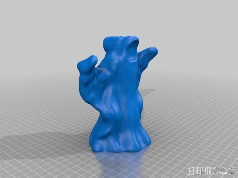 万圣节幽灵 3D模型  图1