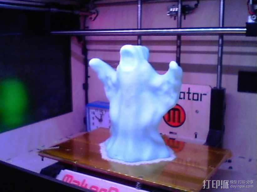 万圣节幽灵 3D模型  图2