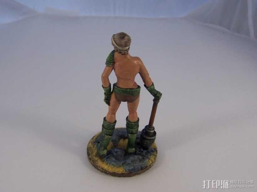 女战士Sappho 3D模型  图8