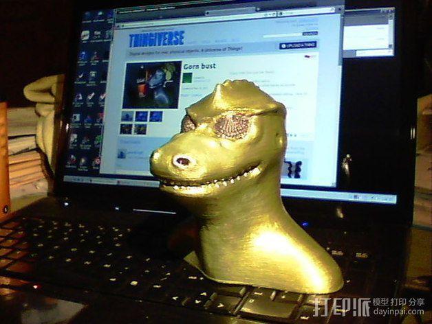 星际迷航 Gorn 3D模型  图2