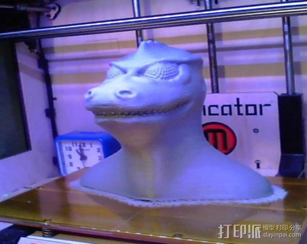 星际迷航 Gorn 3D模型  图4
