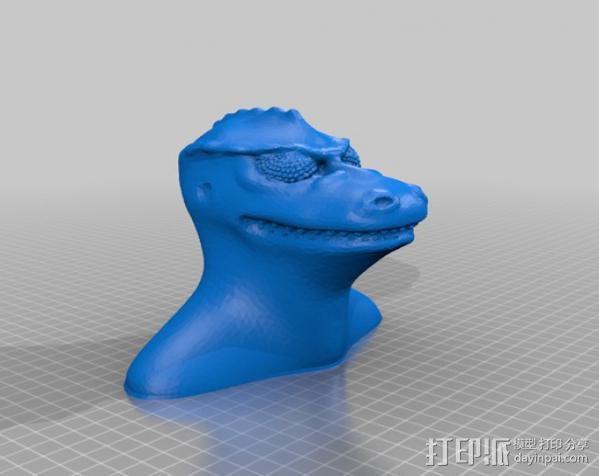 星际迷航 Gorn 3D模型  图5
