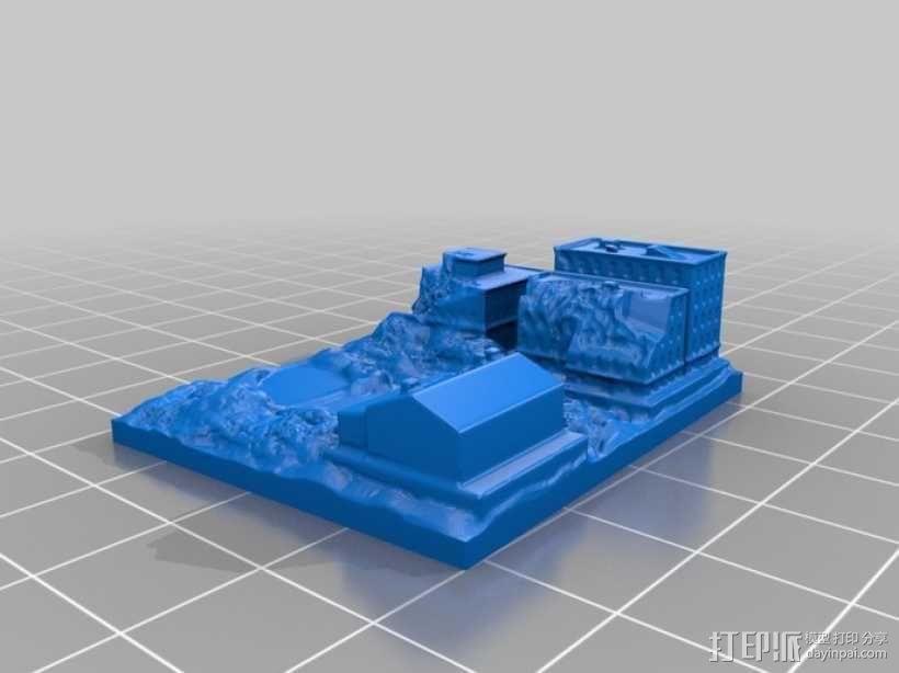 巨型机器人 3D模型  图2