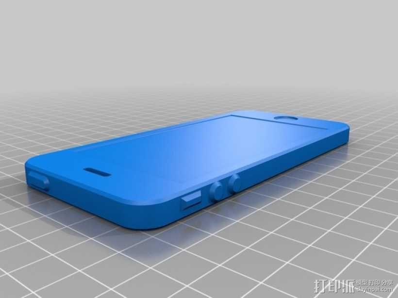 iPhone 5手机模型 3D模型  图1