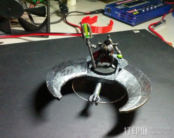 飞行的战车 3D模型  图6