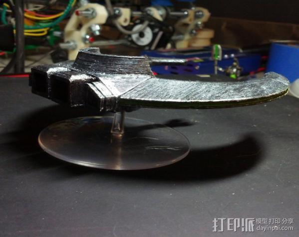 飞行的战车 3D模型  图9