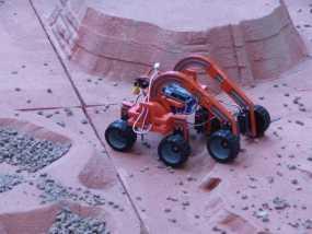 火星漫游者 火星车 3D模型