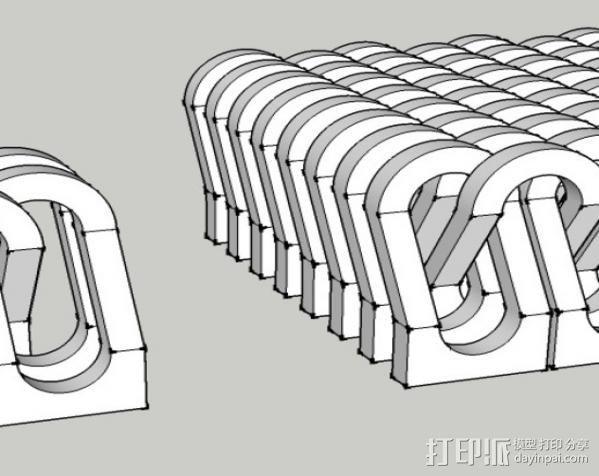 锁链  链甲 3D模型  图4
