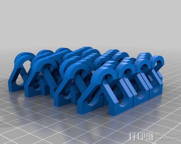 锁链  链甲 3D模型  图7
