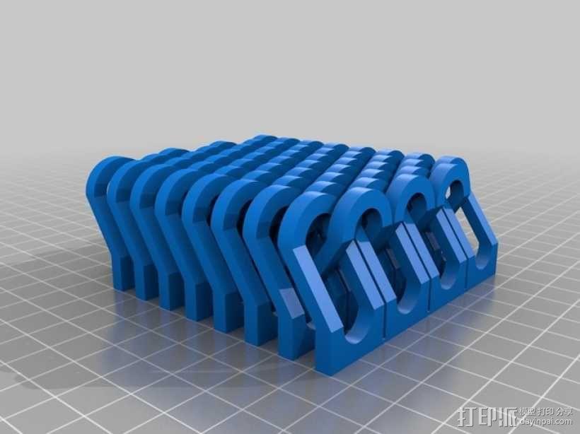 锁链  链甲 3D模型  图9
