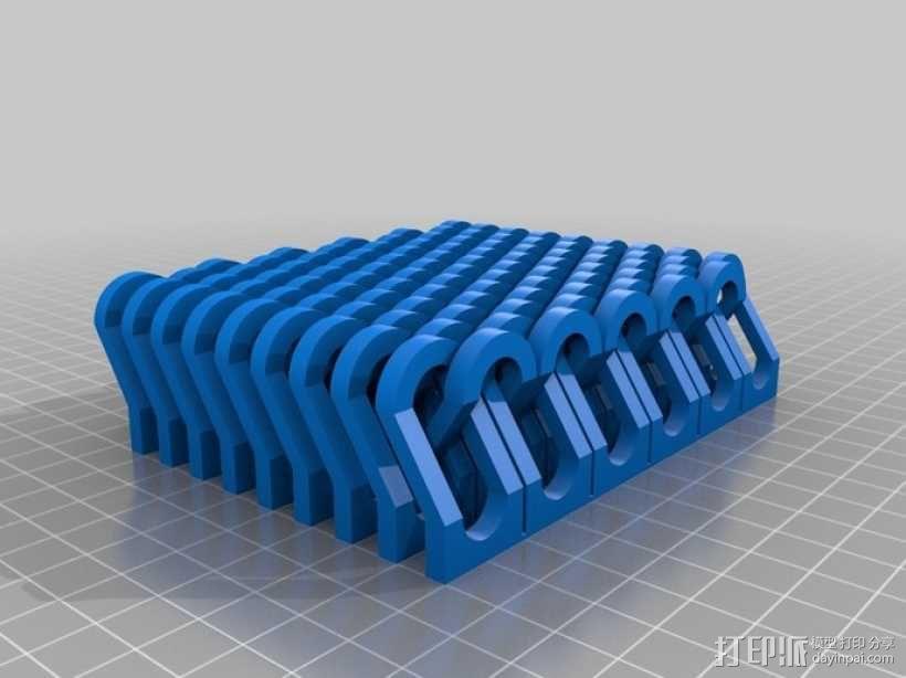 锁链  链甲 3D模型  图10