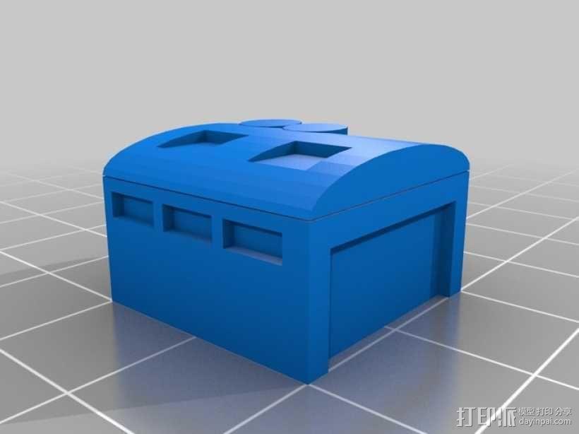 车间 工作室模型 3D模型  图1