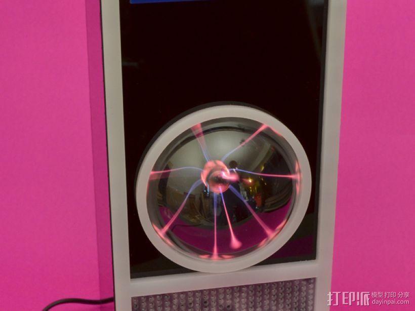 HAL 9000等离子球 监视球 3D模型  图1