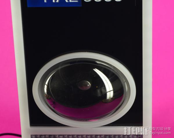 HAL 9000等离子球 监视球 3D模型  图2