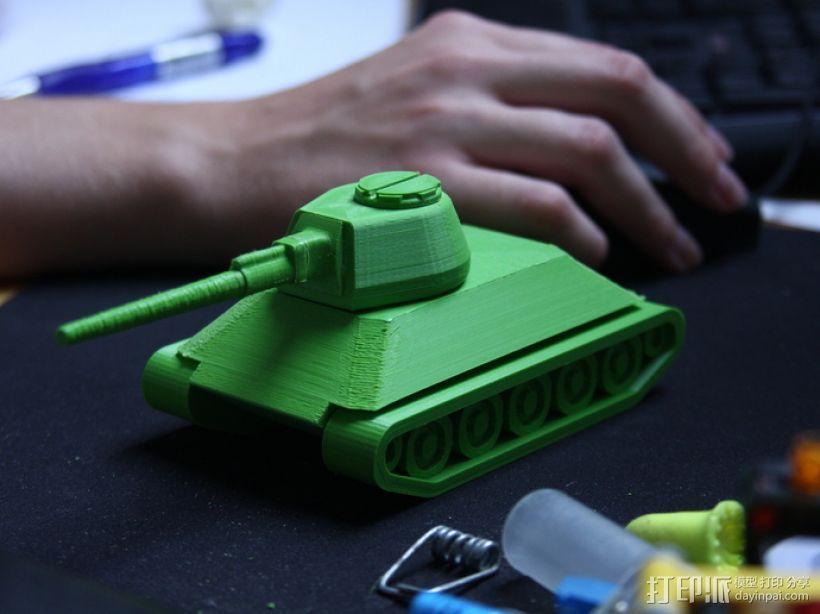 T-34坦克 3D模型  图2