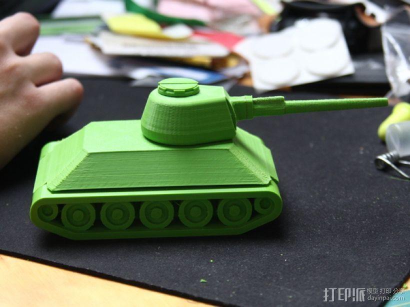 T-34坦克 3D模型  图4