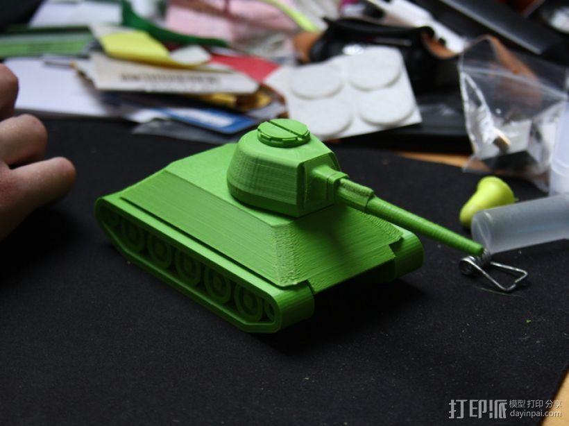 T-34坦克 3D模型  图3
