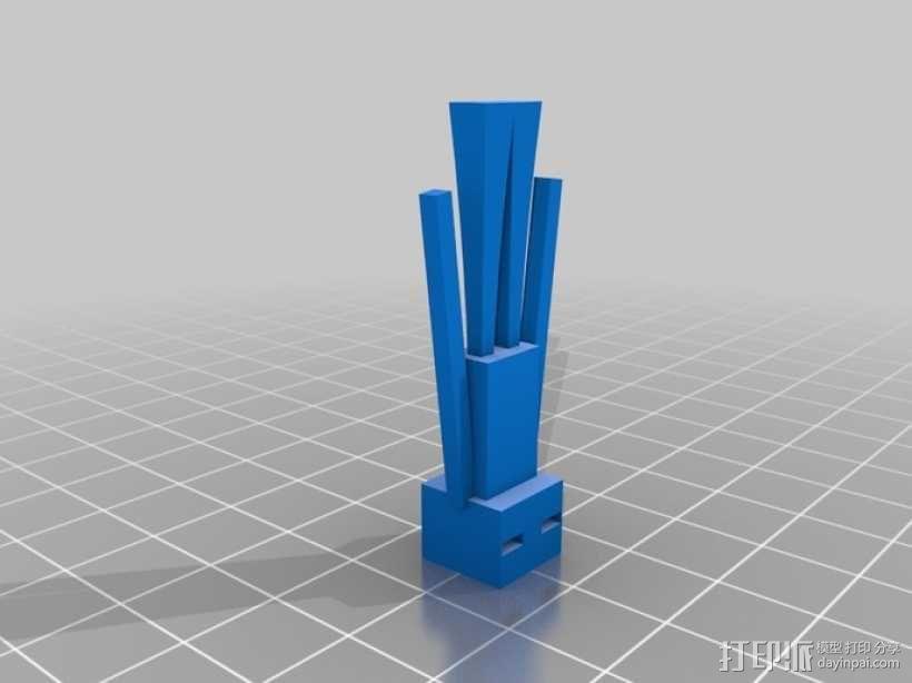 末影人 游戏造型 3D模型  图1