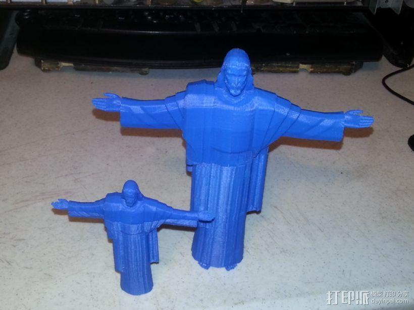 耶稣雕塑 3D模型  图7