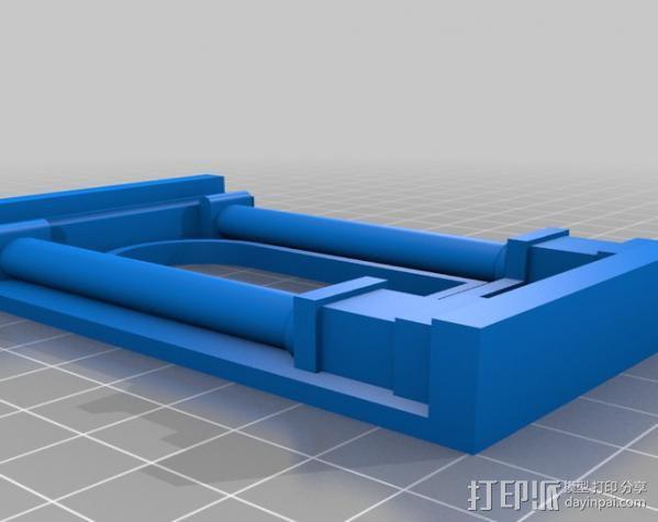 窗户 梁柱 3D模型  图3