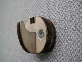钩子 墙壁挂钩 3D模型