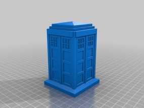 塔迪斯警察亭 3D模型