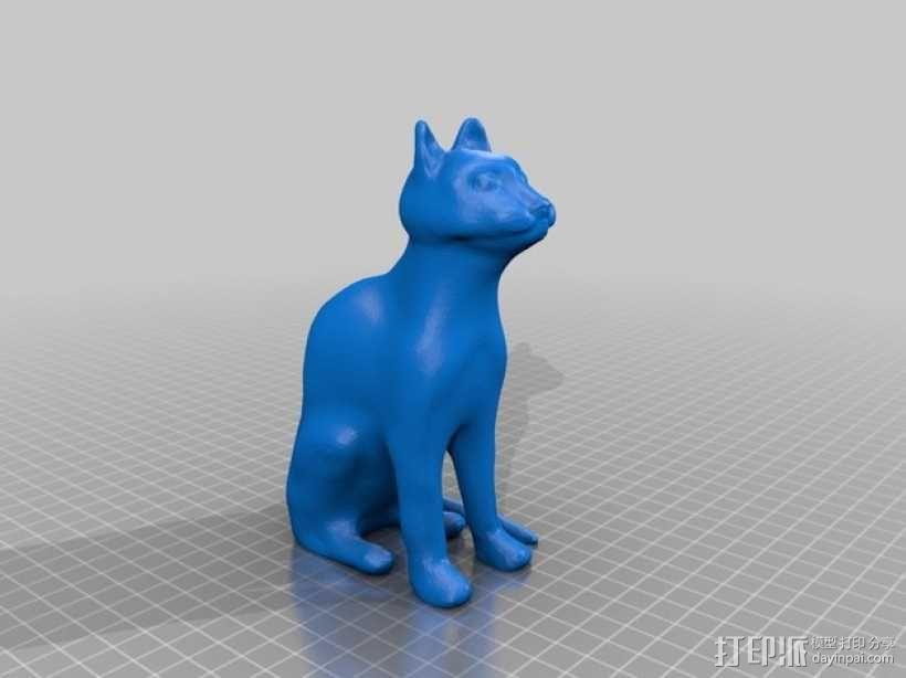 猫咪 3D模型  图1