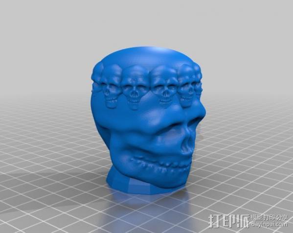 骷髅王  头骨  3D模型  图1