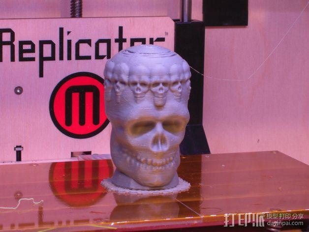 骷髅王  头骨  3D模型  图2
