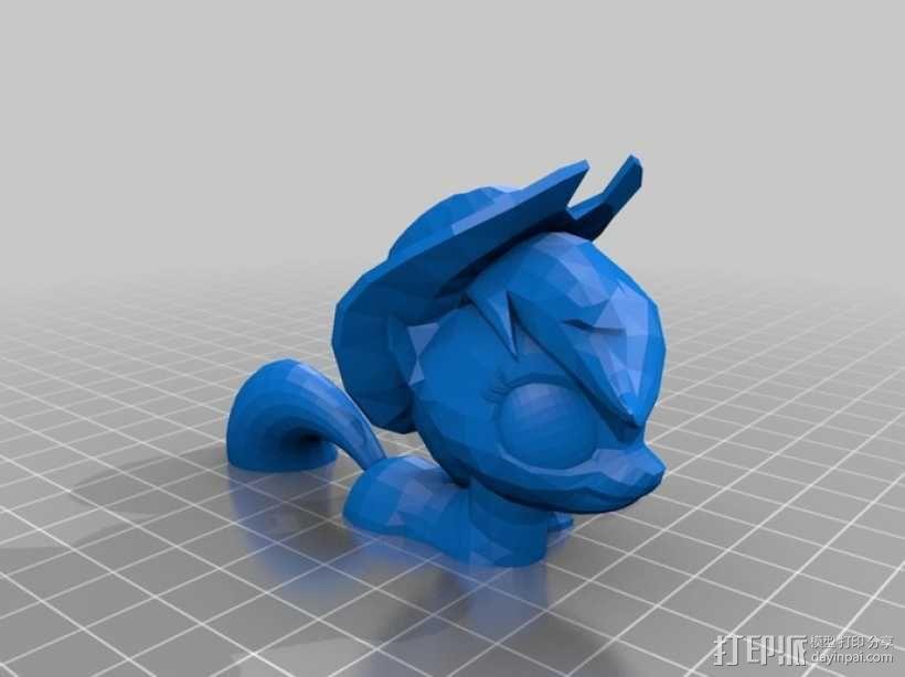 小马宝莉 小马驹 3D模型  图15