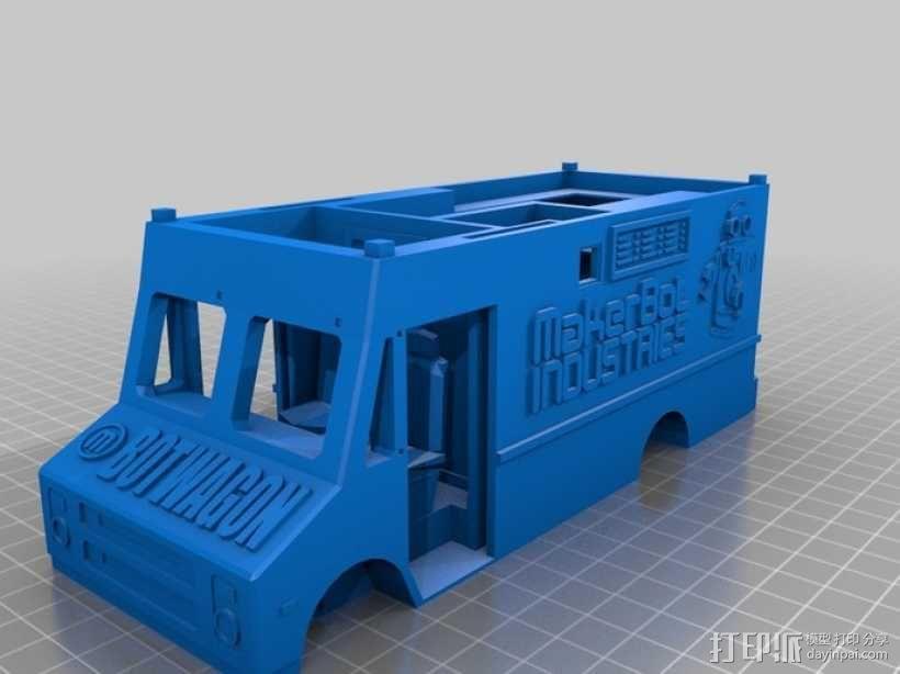 旅行车 房车 3D模型  图2