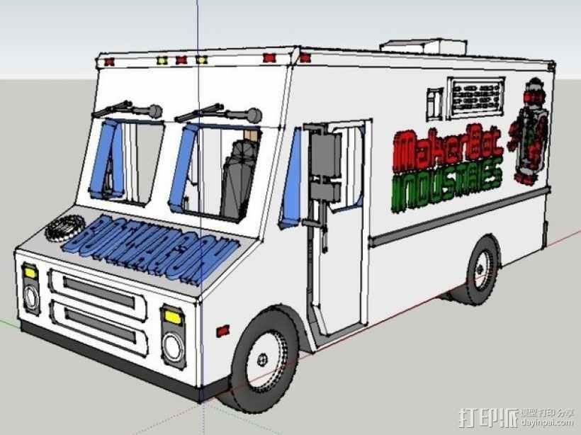 旅行车 房车 3D模型  图1