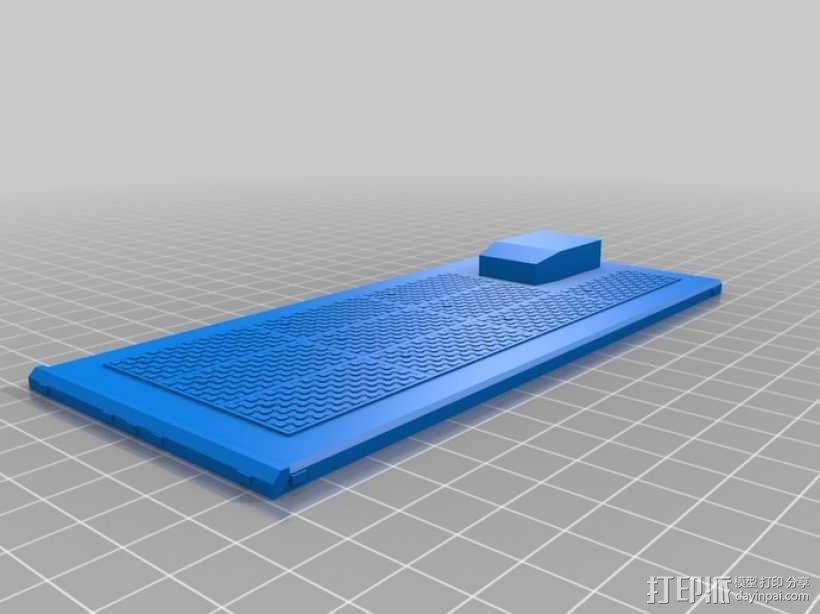 旅行车 房车 3D模型  图3