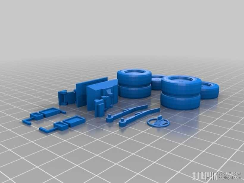 旅行车 房车 3D模型  图5