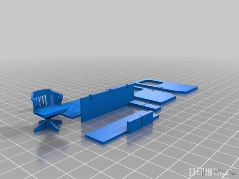 旅行车 房车 3D模型  图4