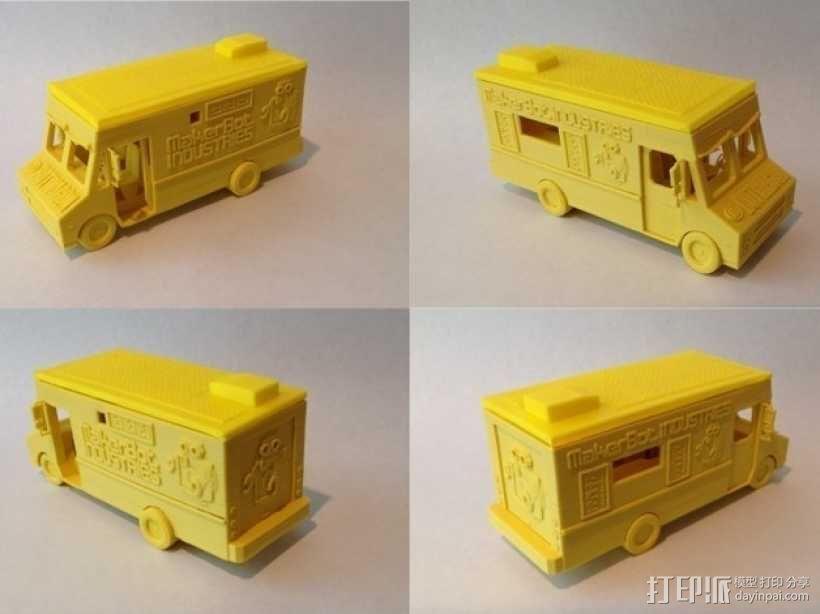 旅行车 房车 3D模型  图6
