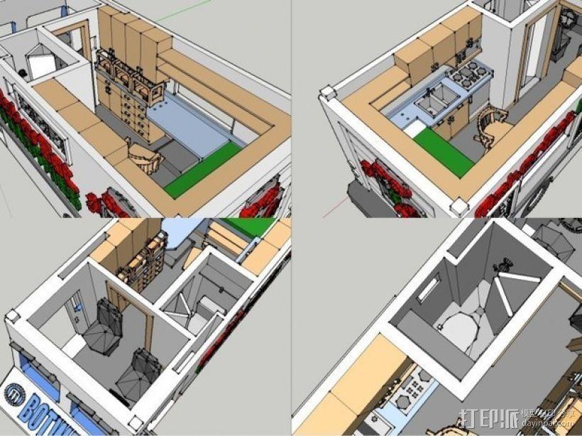 旅行车 房车 3D模型  图9