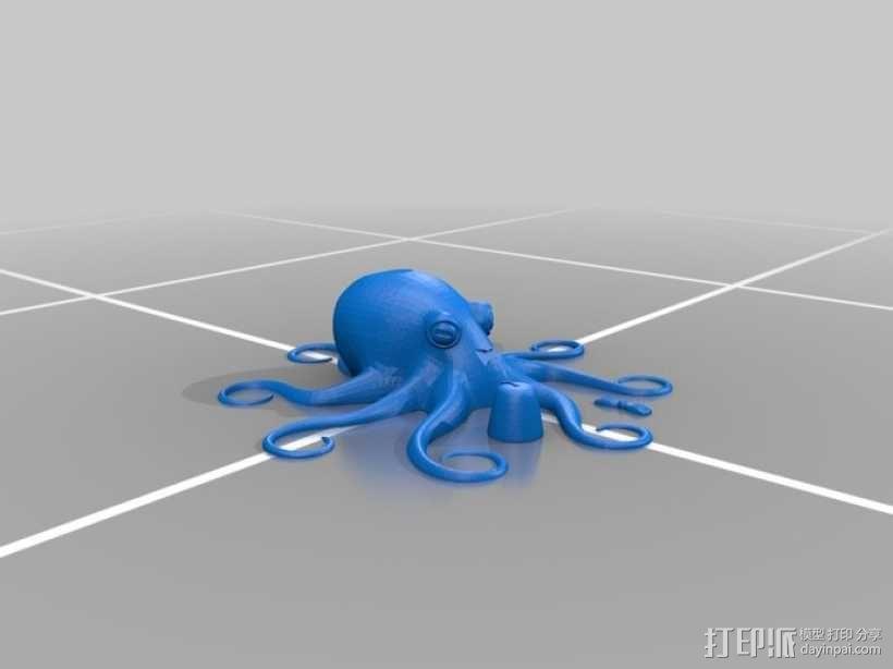 章鱼博士 3D模型  图4