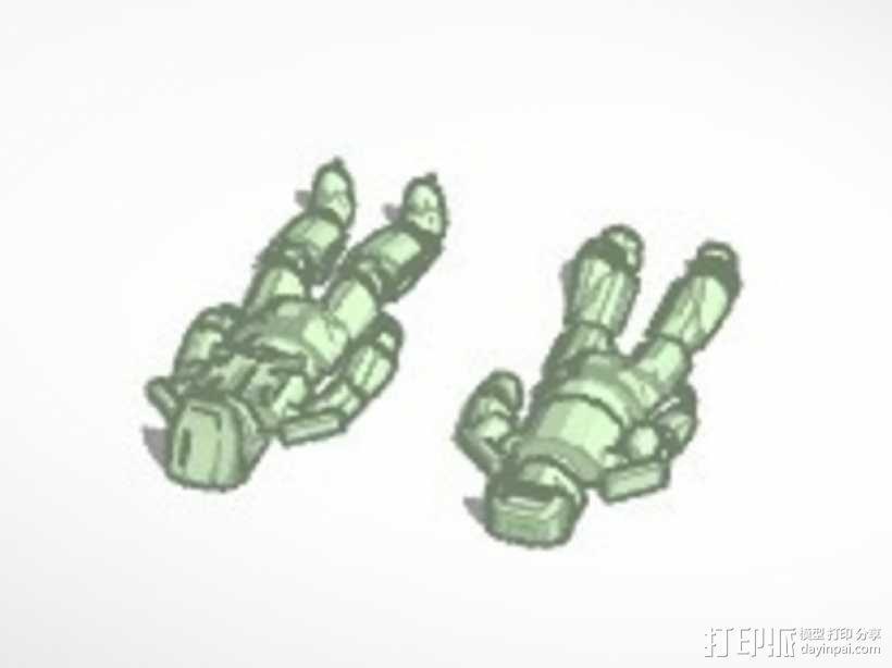 光晕 斯巴达战士  3D模型  图2