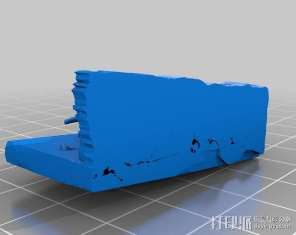 美洲乳齿象 3D模型  图1