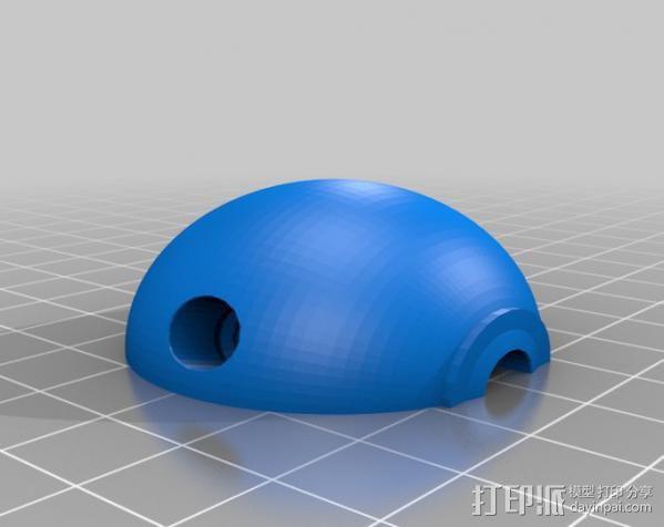 炸弹 3D模型  图1