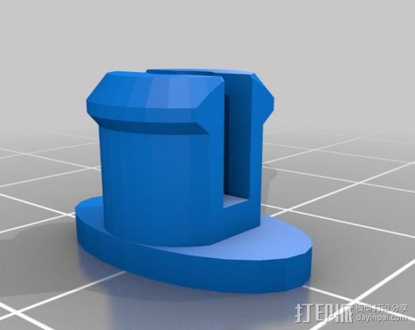 炸弹 3D模型  图2