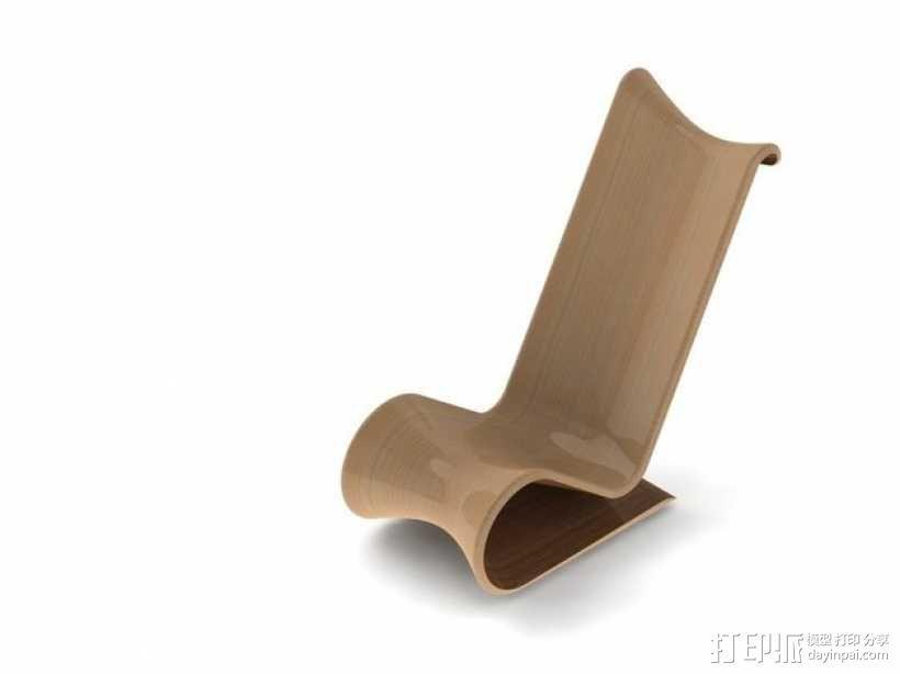 曲线椅子  3D模型  图8