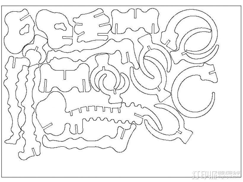 长毛象 猛犸象 3D模型  图6