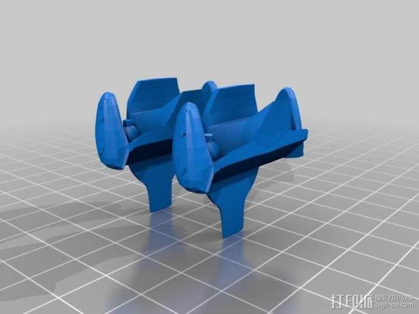 终结者捕猎杀手飞船 3D模型  图2