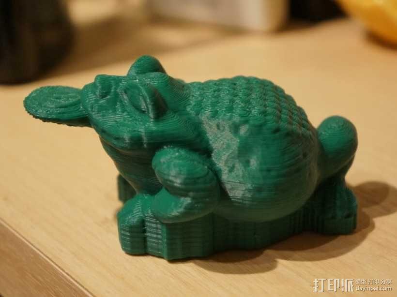 三条腿的蟾蜍 3D模型  图3