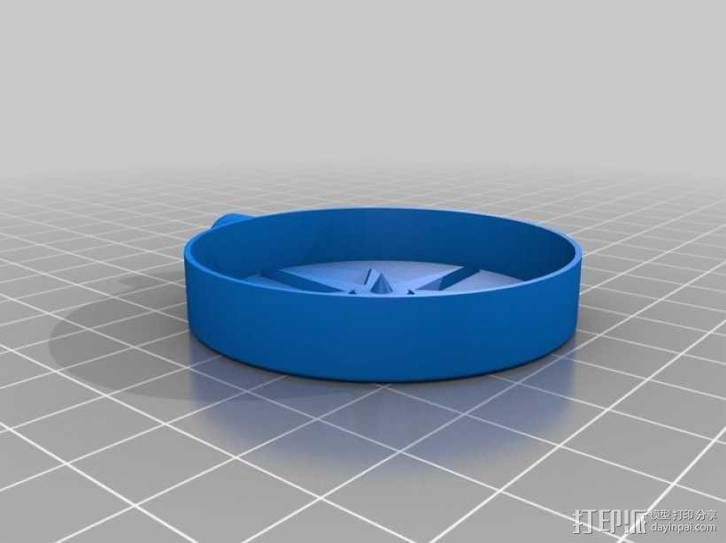 指南针 3D模型  图2