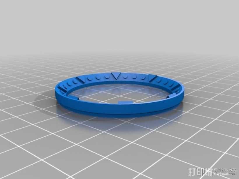 指南针 3D模型  图3