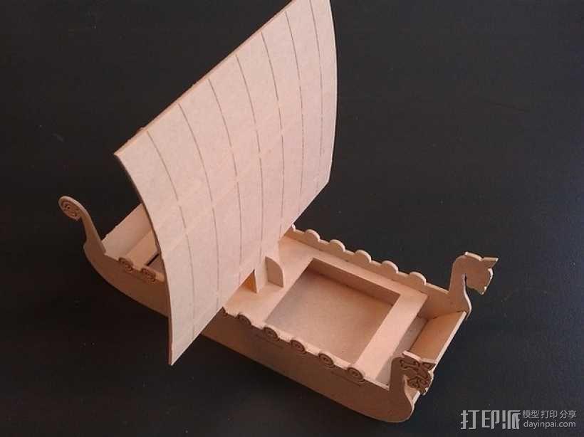 维京海盗船 3D模型  图2
